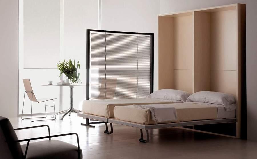giường kết hợp tủ quần áo