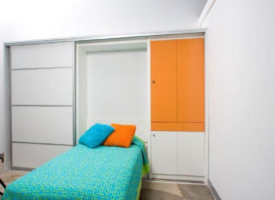 Giường kết hợp tủ quần áo có thể dùng cho căn phòng trẻ em