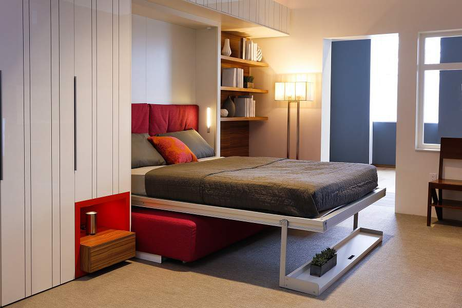 Giường kết hợp tủ quần áo tại nội thất Toàn Cầu