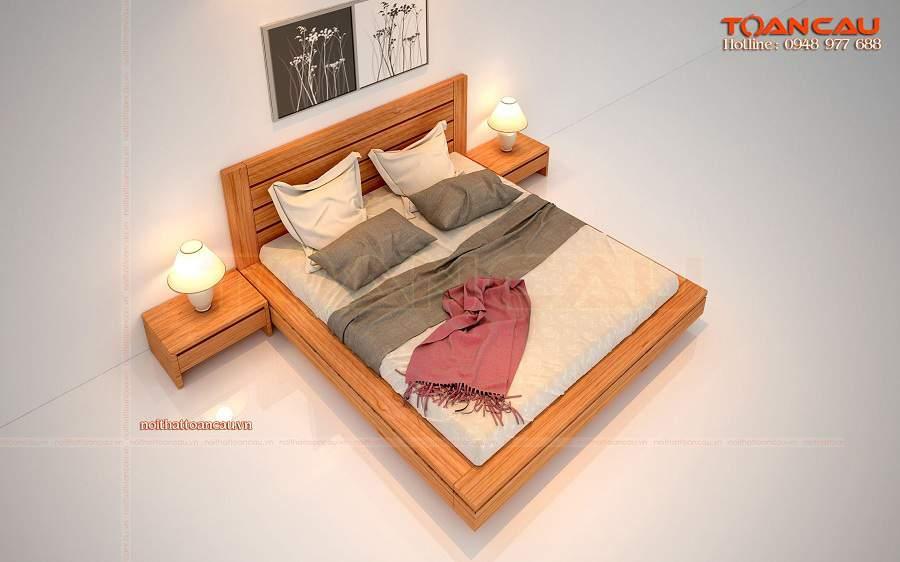 Giường nhật hiện đại