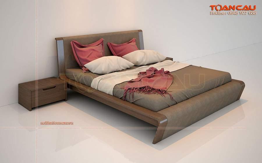 đóng giường gỗ giá rẻ, đóng giường ngủ giá rẻ sang trọng