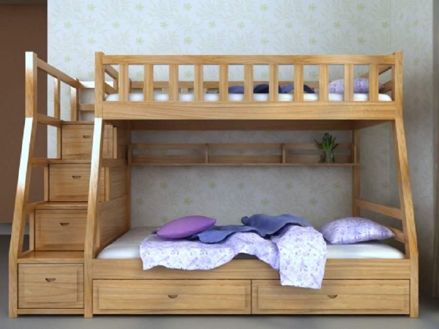 Giường ngủ có hộc kéo bền đẹp chất lượng