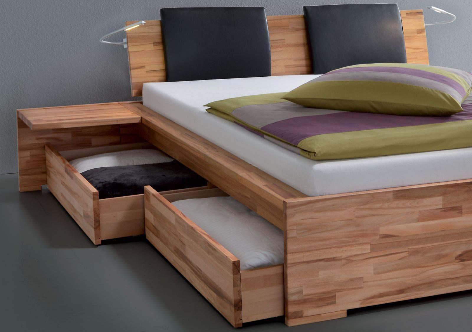 Mẫu giường ngủ có ngăn kéo _ TC11745