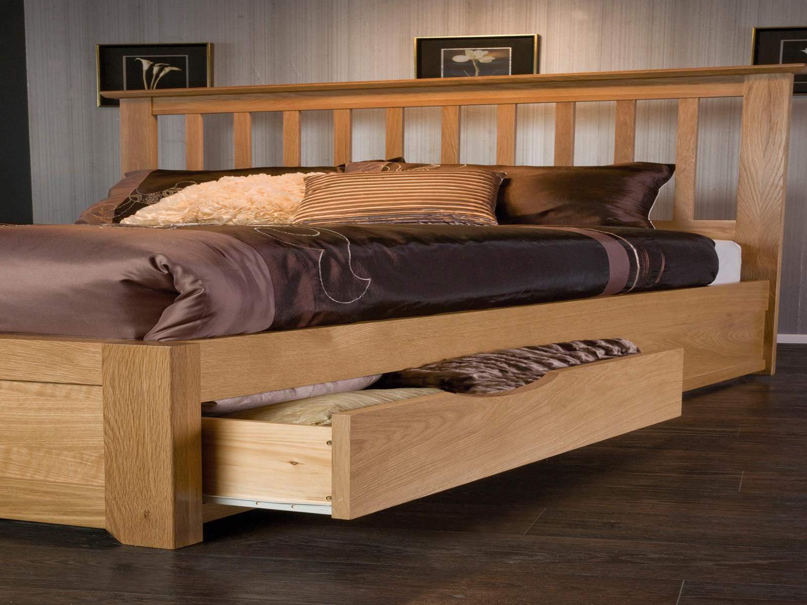 Mẫu giường ngủ có ngăn kéo - TC11746