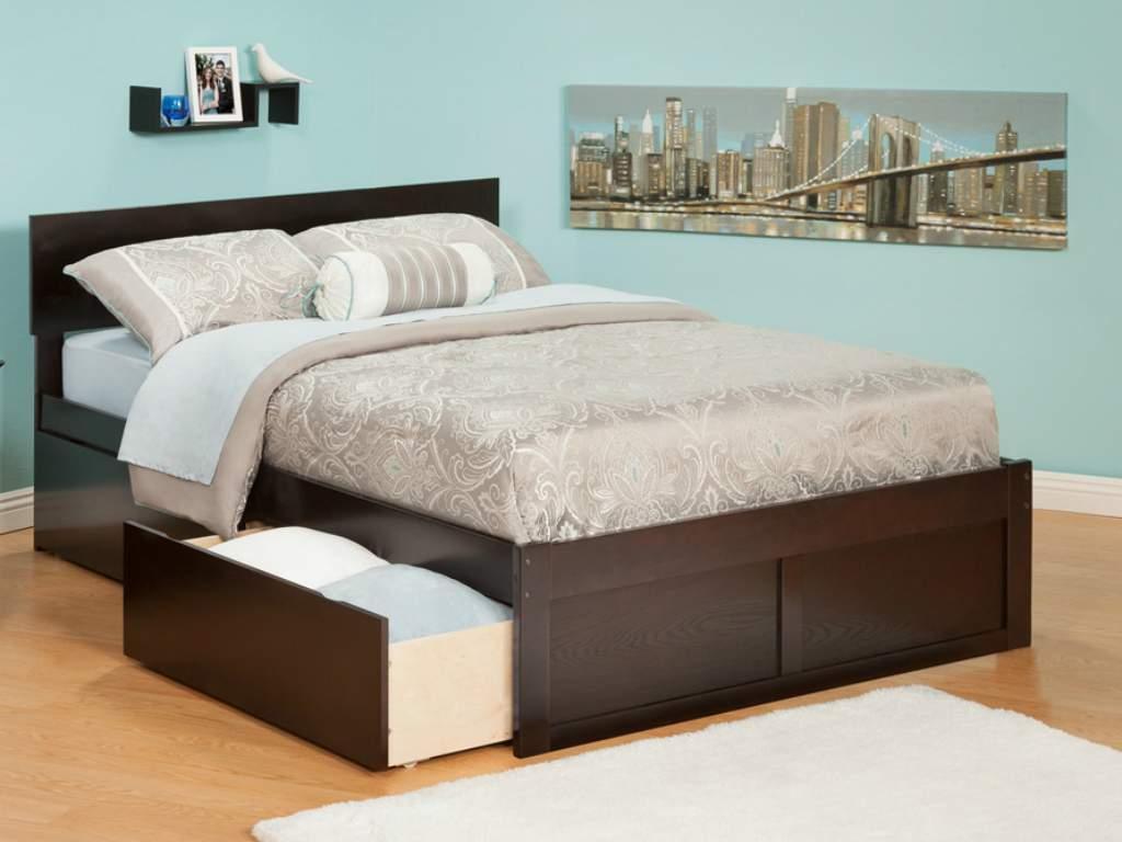 Mẫu giường ngủ có ngăn kéo – TC11747