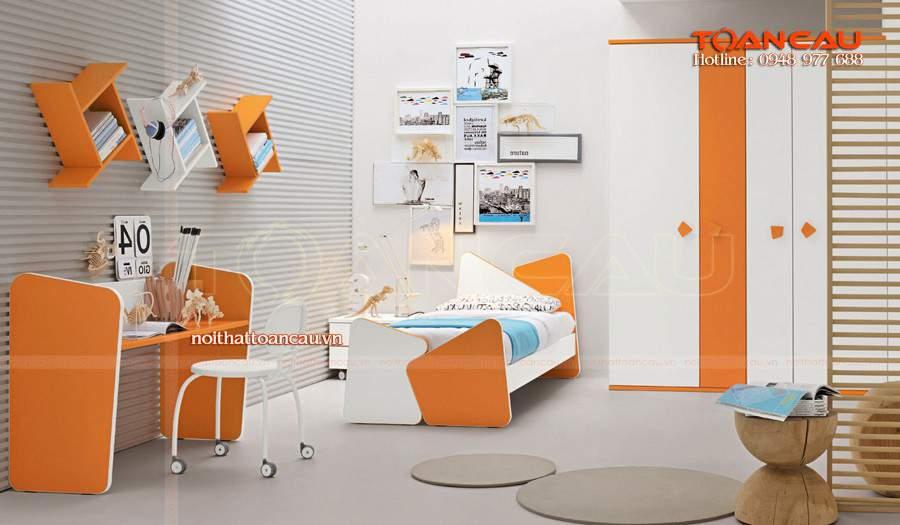 mẫu thiết kế phòng ngủ trẻ em mới nhất