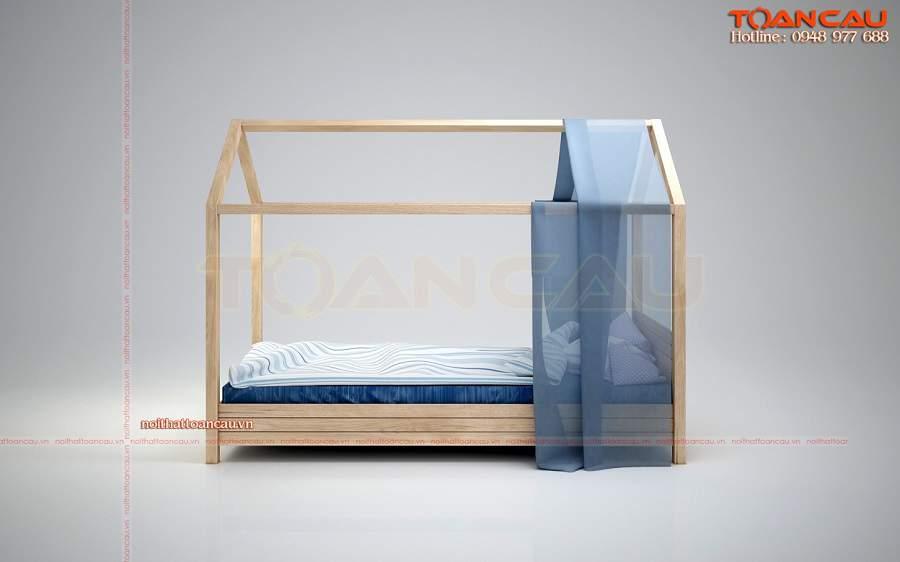 Giường ngủ đơn cho bé trai giá rẻ - TC1112B