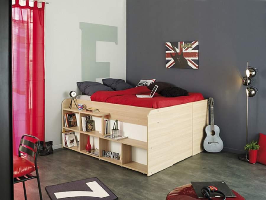Giường ngủ gấp tiết kiệm không gian cho nhà xinh
