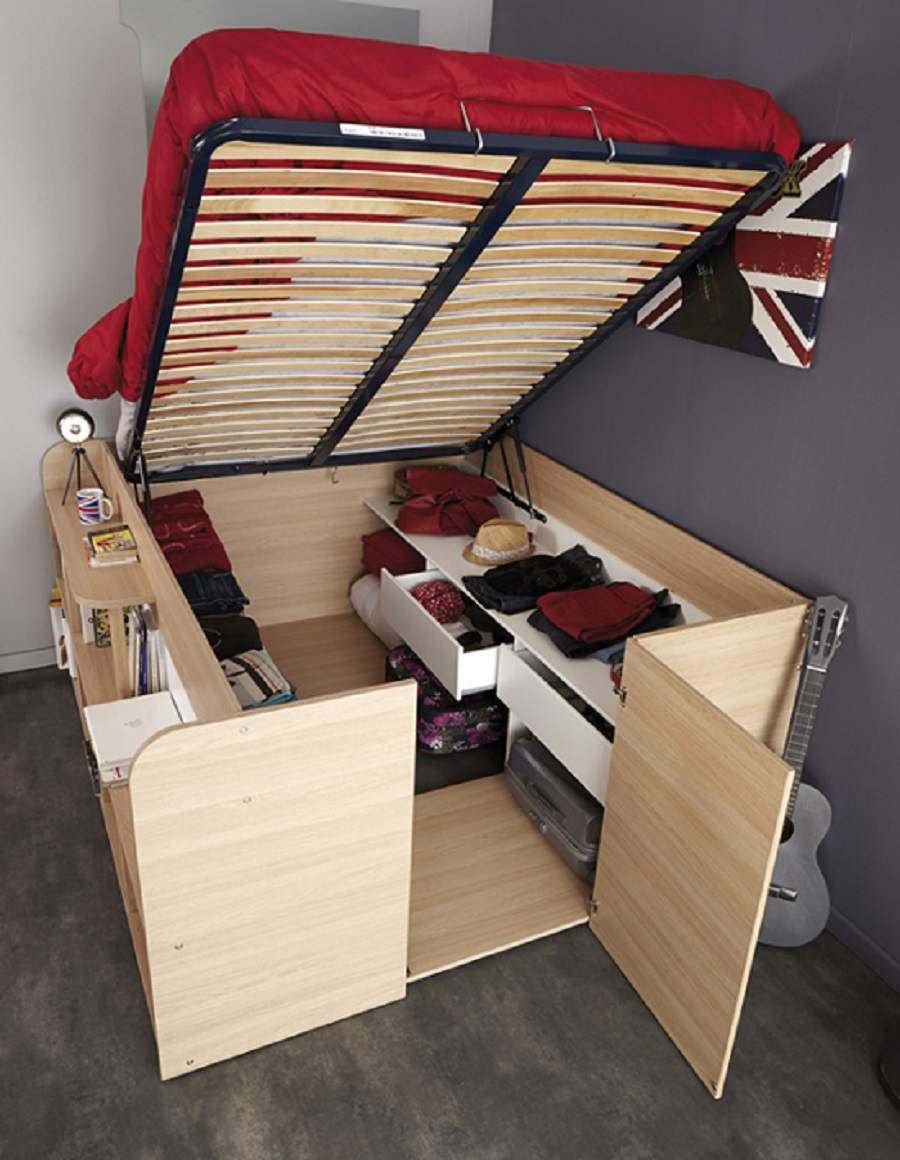 Giường ngủ gấp tiết kiệm không gian