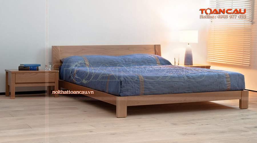 Gường ngủ gỗ công nghiệp cho không gian hài hòa