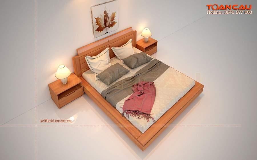 Giường ngủ gỗ công nghiệp giá rẻ tp hcm