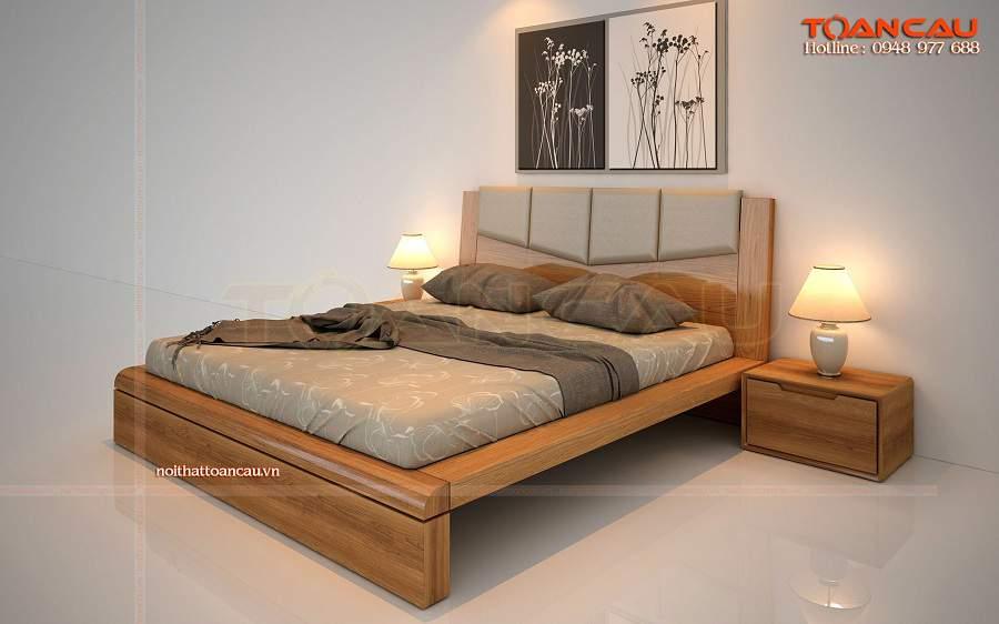 Giường ngủ gỗ công nghiệp hà nội chất lượng