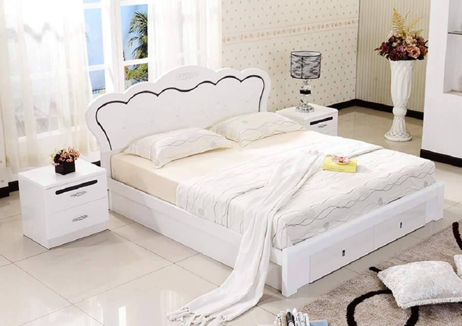 giường ngủ gỗ mdf đẹp và sang