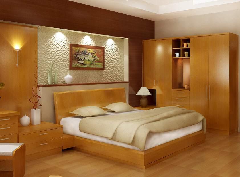 Mẫu giường ngủ gỗ hộp – TC14153