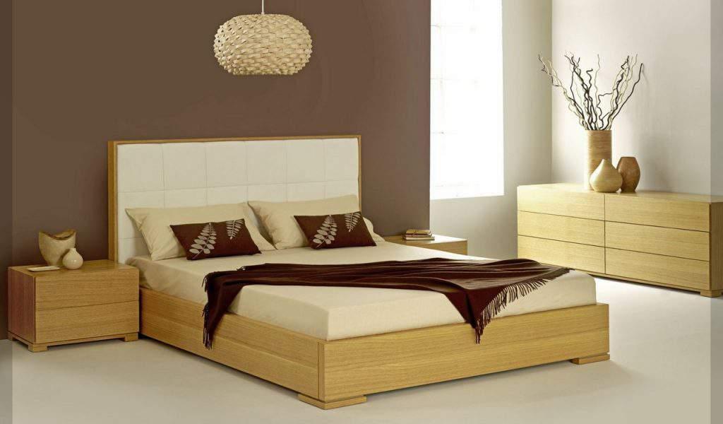 Mẫu giường ngủ gỗ hộp – TC14154