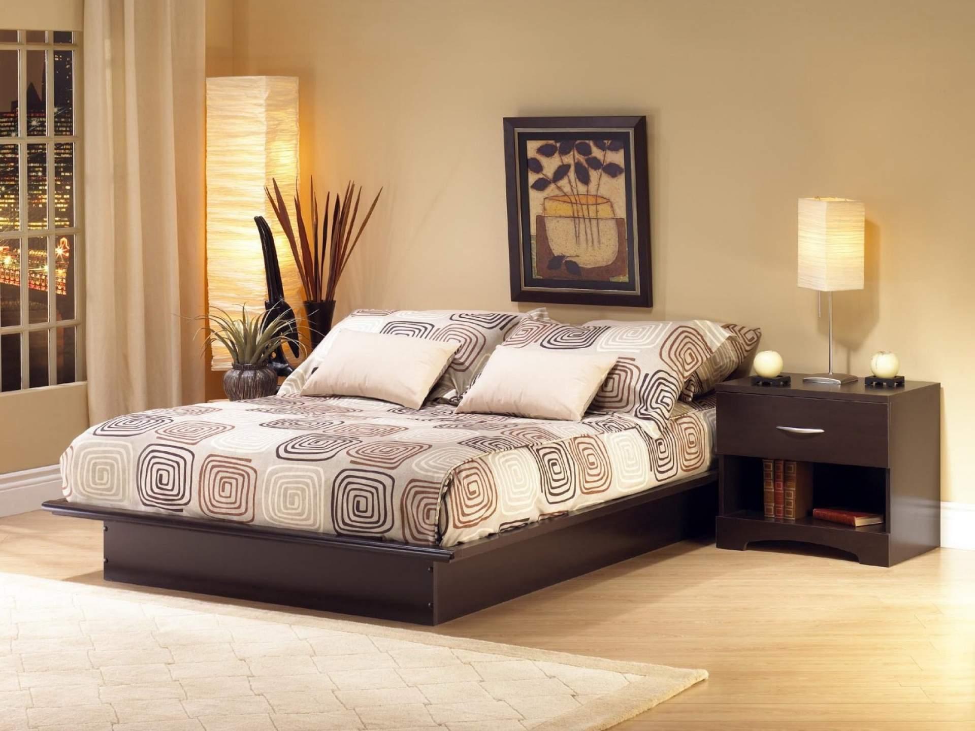 Mẫu giường ngủ gỗ hộp – TC14155