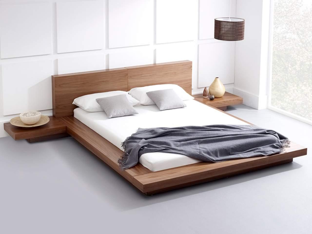 Mẫu giường ngủ gỗ hộp – TC14156