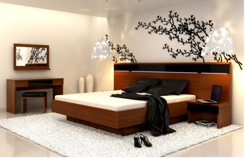 Mẫu giường ngủ gỗ hộp – TC14157