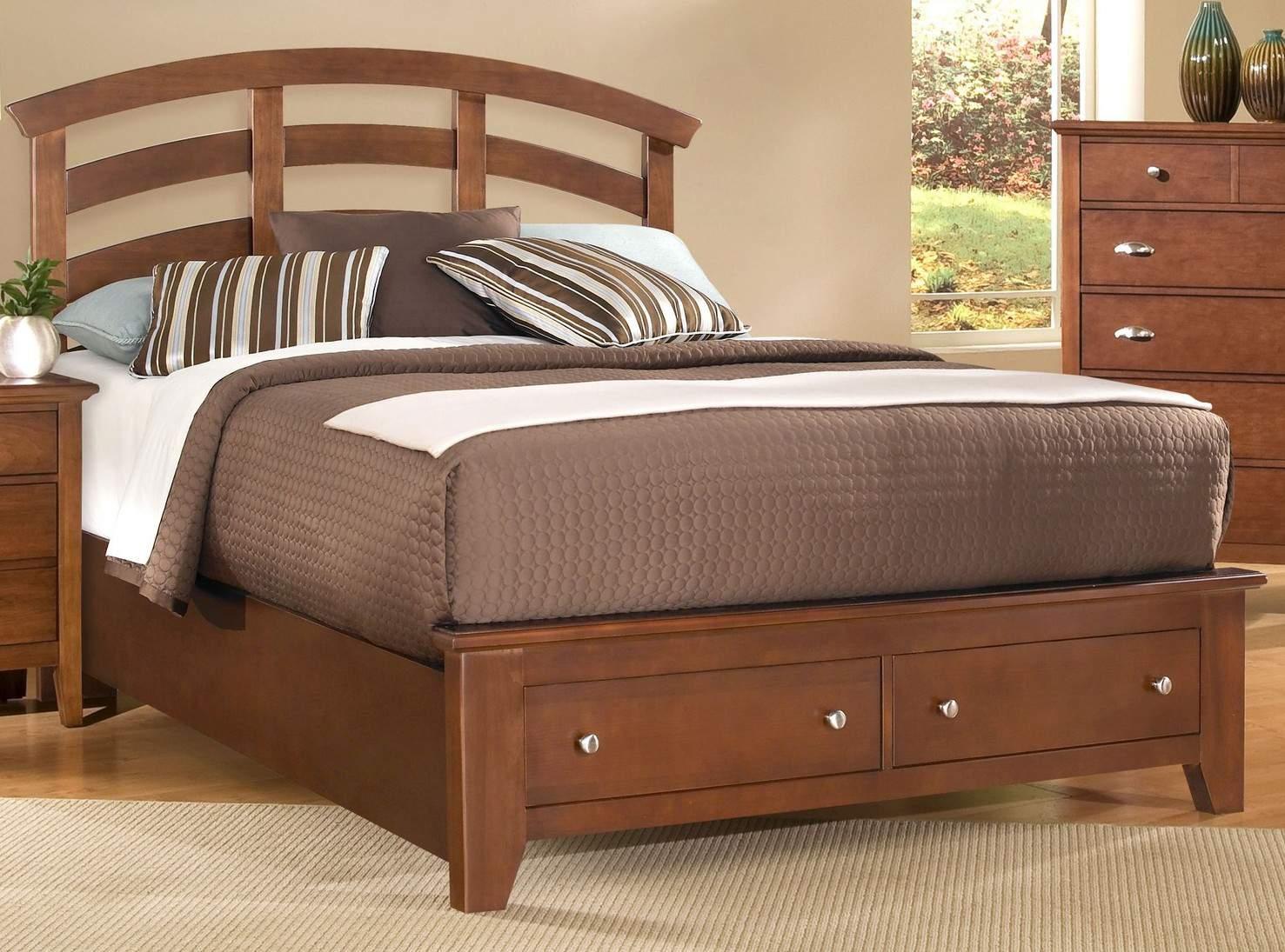 Mẫu giường ngủ gỗ hương – TC16133