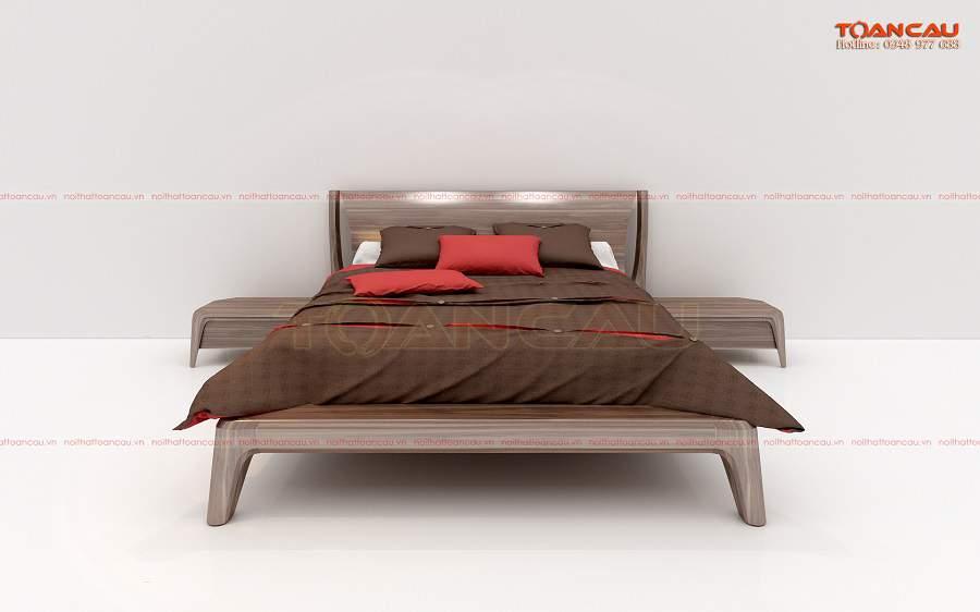 Giường ngủ gỗ tự nhiên 1m8 tại Hà Nội rất tiện ích với người dùng