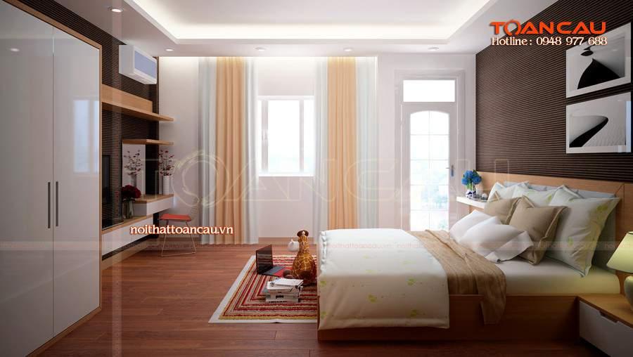 Giường ngủ gỗ tự nhiên hà nội