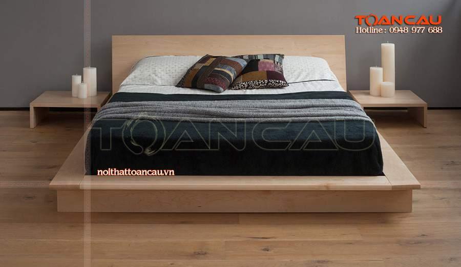 Giường gỗ tự nhiên hà nội