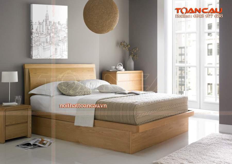 Giường tủ gỗ tự nhiên hà nội đa năng