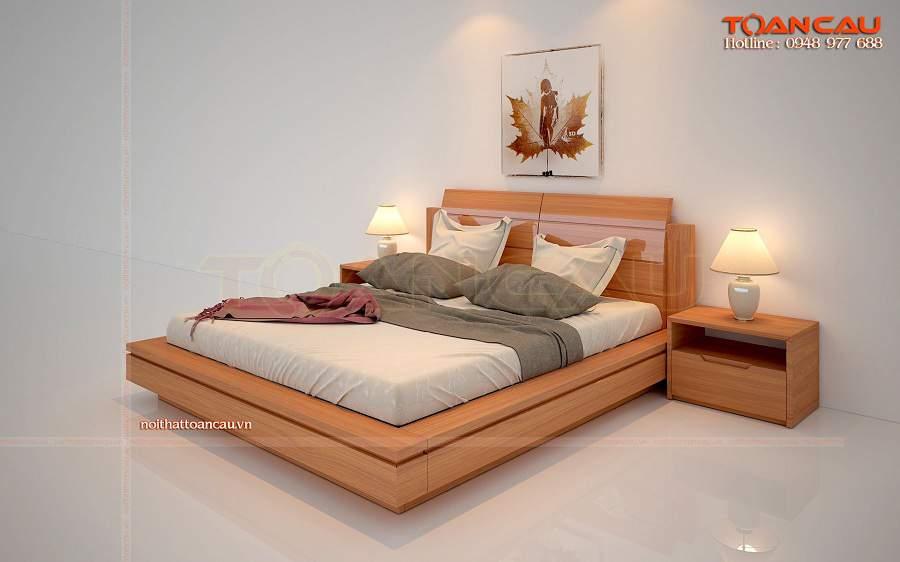Nên chọn giường ngủ gỗ tự nhiên cao cấp tại Hà Nội  giá rẻ