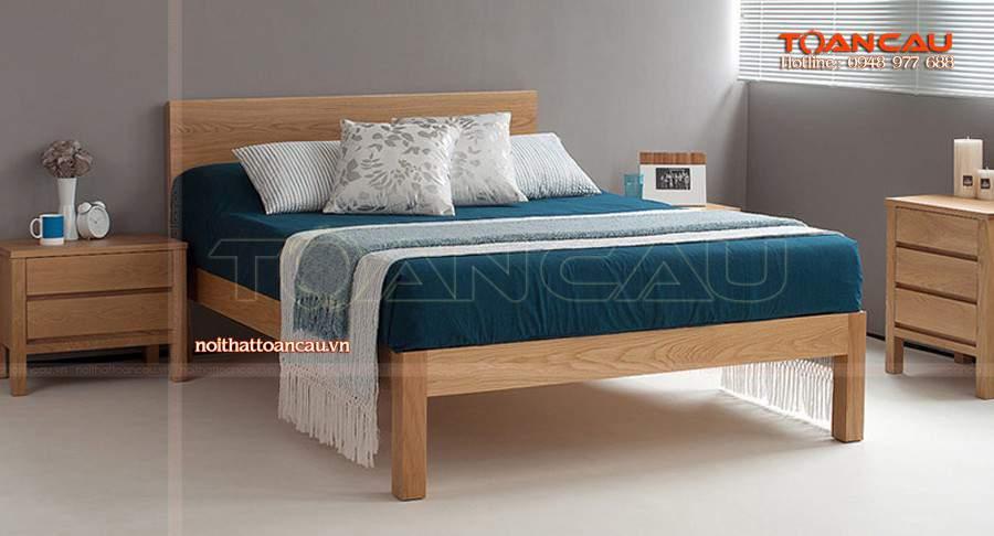 Giường ngủ gỗ giá rẻ tại hà nội