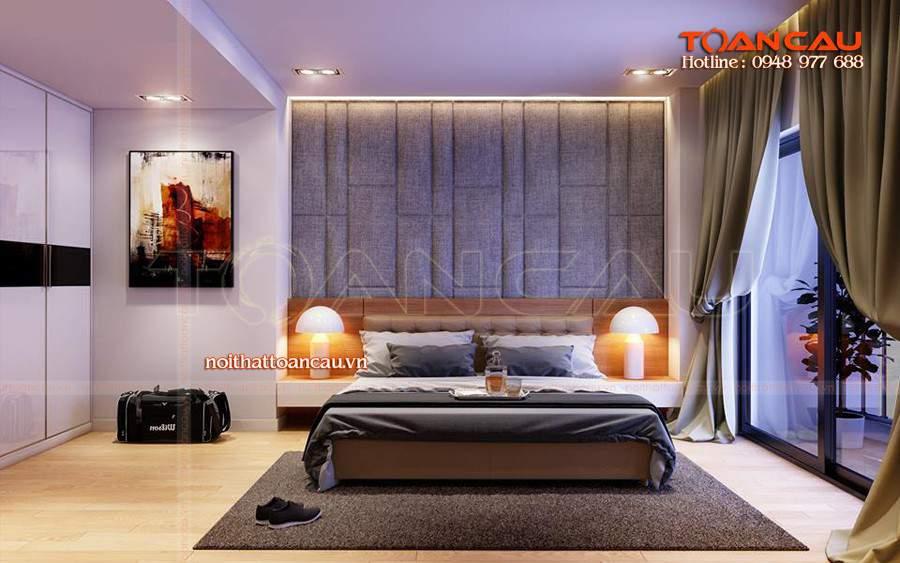 Không gian sống thoải mái với những mẫu giường hiện đại