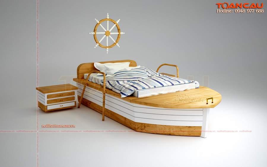 Giường ngủ giá rẻ dưới 1 triệu cho phòng bé