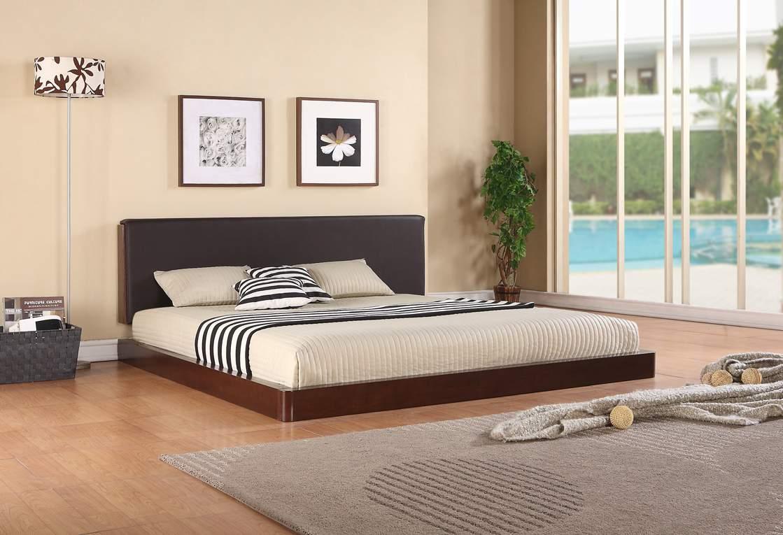 Mẫu giường ngủ thấp - TC19171