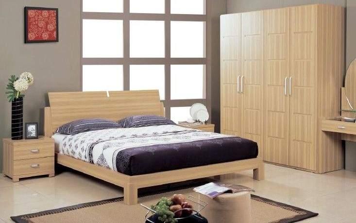 Mẫu giường ngủ thấp - TC19172