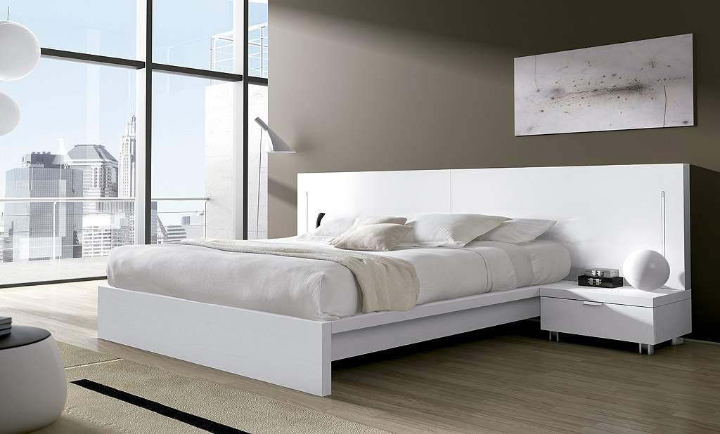 Mẫu giường ngủ thấp - TC19174