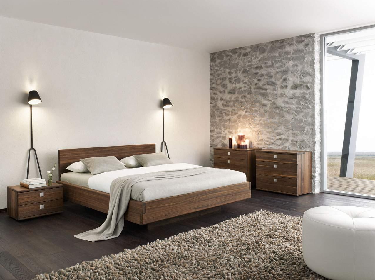 Mẫu giường ngủ thấp - TC19175