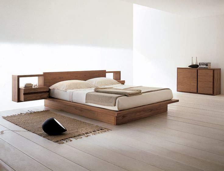 Mẫu giường ngủ thấp - TC19176