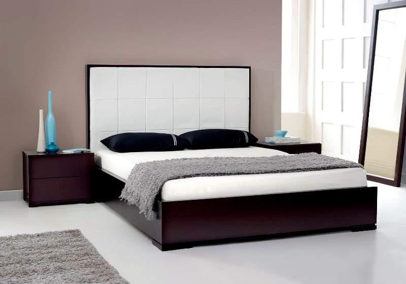 Mẫu giường ngủ thấp - TC19177