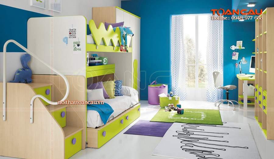 giường tầng trẻ em ở hà nội, mua giường tầng cho bé ở hà nội tinh tế