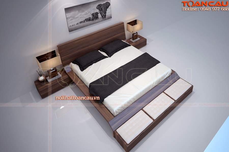thiết kế phòng ngủ nhỏ đơn giản 9m2 hiện đại
