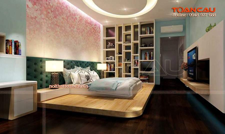 thiết kế cho phòng ngủ nhỏ, thiết kế nội thất cho phòng ngủ nhỏ đẹp tinh tế