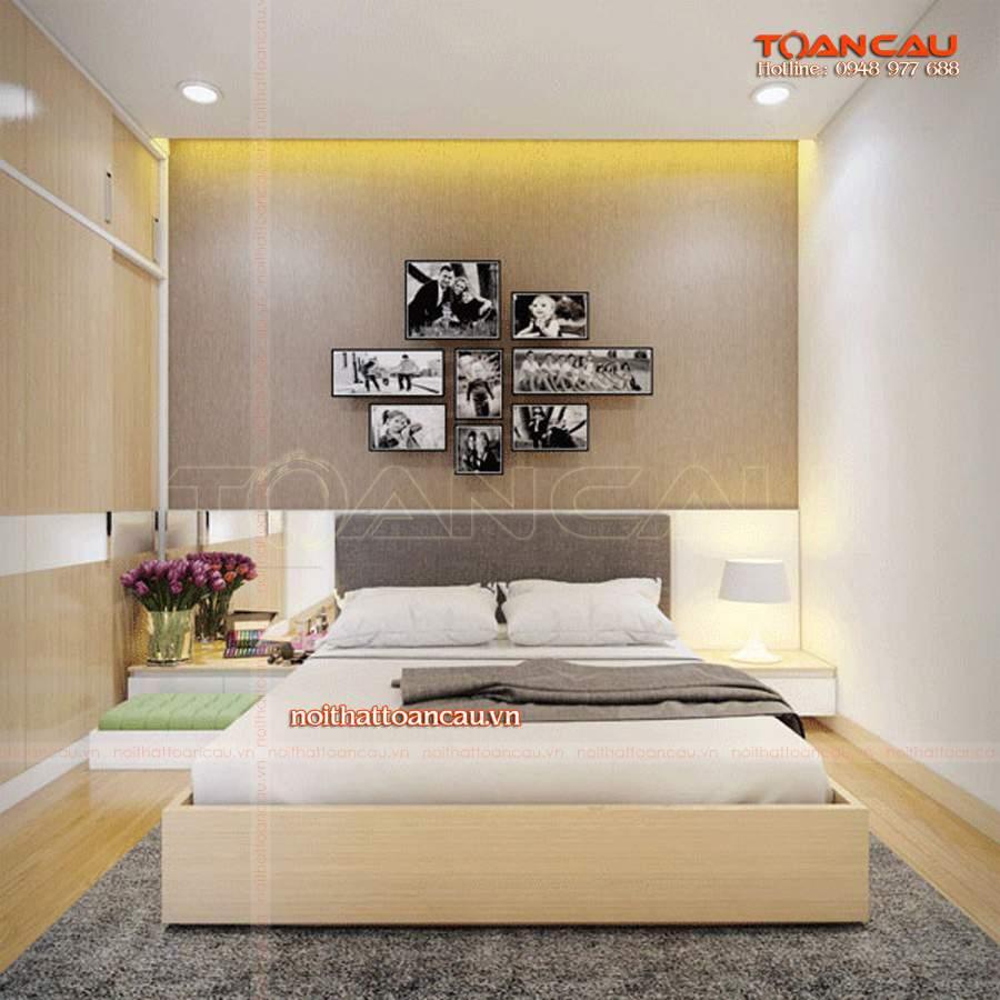 tranh treo đầu giường hợp phong thủy