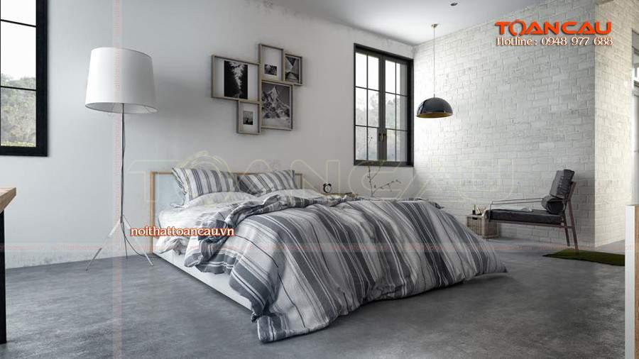 Mẫu giường ngủ gỗ đẹp và tiện nghi
