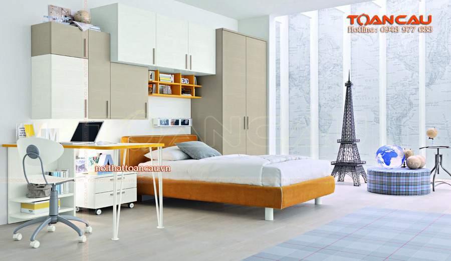 giường thấp giá rẻ cho không gian hiện đại