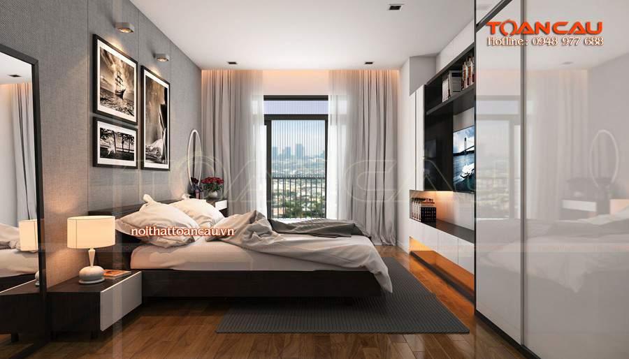 thiết kế nội thất cho phòng ngủ nhỏ, thiết kế phòng ngủ đẹp nhỏ sang trọng