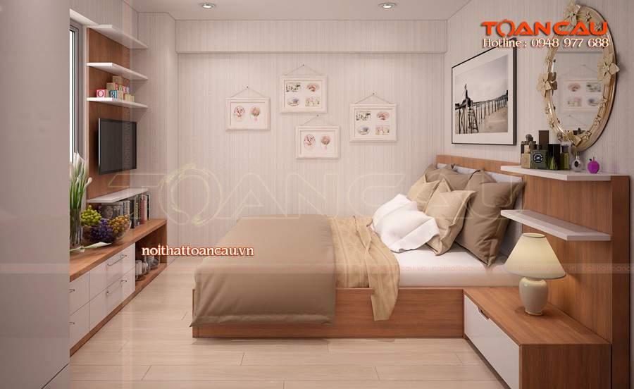 Giường ngủ đẹp - tủ Tivi đẹp đảm bảo các gia đình ưng ý nhất