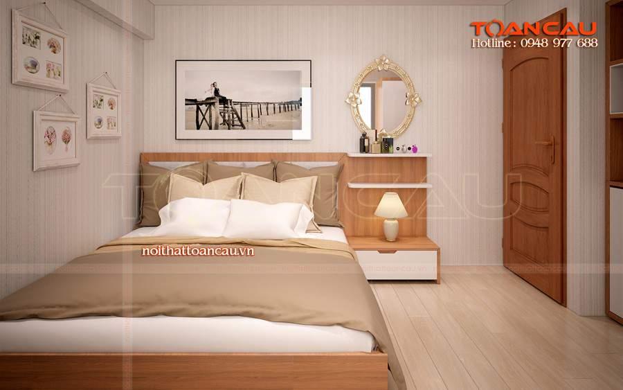 Giường ngủ đẹp - tủ Tivi đẹp bán với giá rẻ tại Công ty nội thất Toàn Cầu