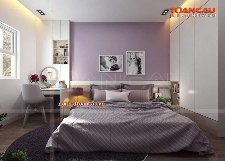 Thiết kế phòng ngủ xinh