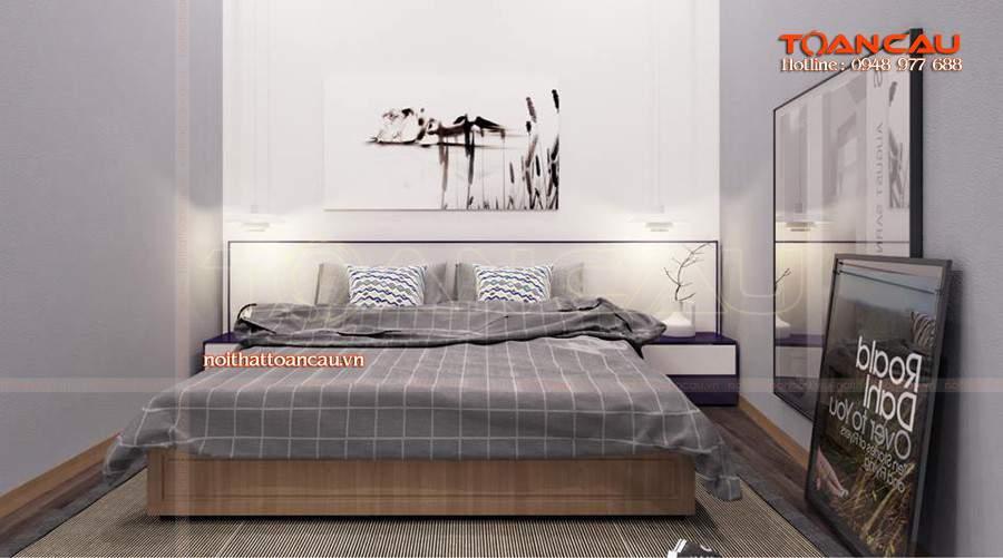 Giường ngủ gỗ công nghiệp đẹp rẻ tại hà nội đẹp nhất