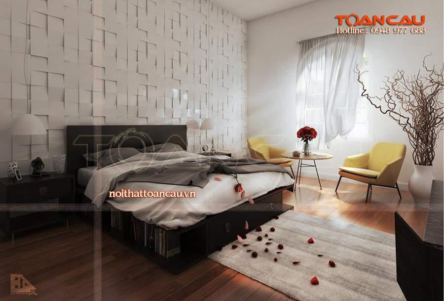 Mẫu giường ngủ đẹp - TC1118