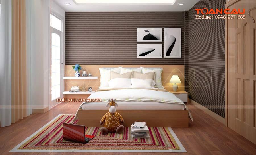 Giường ngủ gỗ sồi tự nhiên giá rẻ tại tphcm đẹp nhất